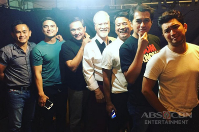 LOOK: Super bonding of Super D stars in between takes