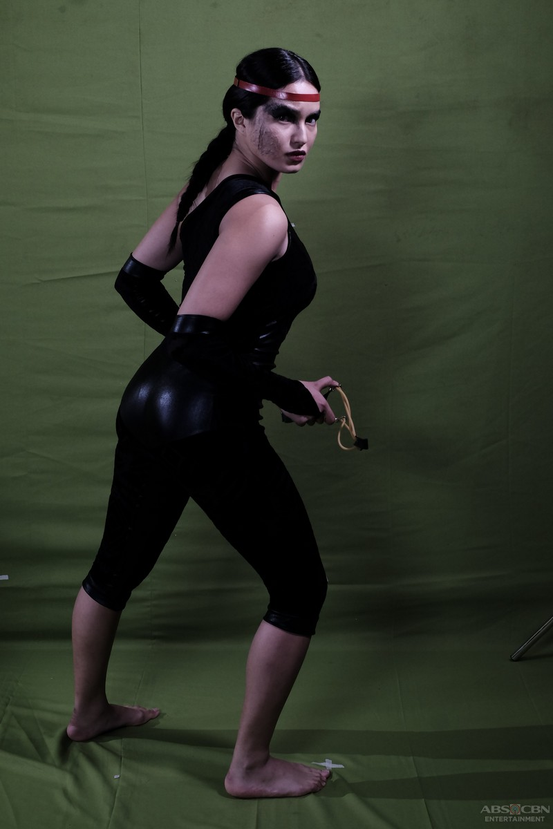 PASILIP sa pictorial shoot ni Sarah Lahbati bilang Ulah/Tiradora